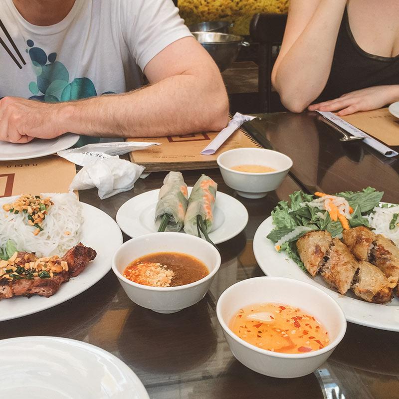 Saigon, Vietnam - Delicious Vietnamese Lunch