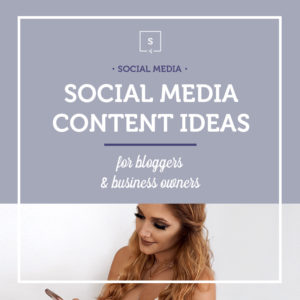 Vertical banner social media content ideas