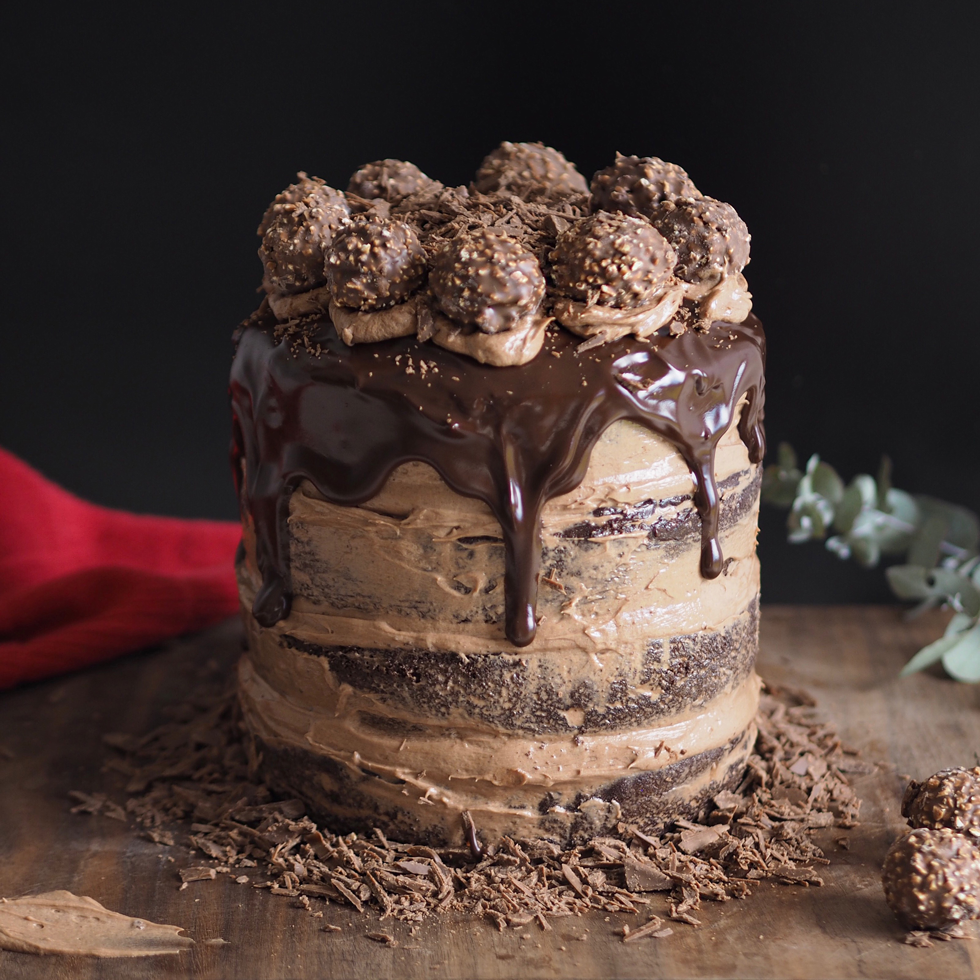 Death By Chocolate Cake - Recipe - Food Photography