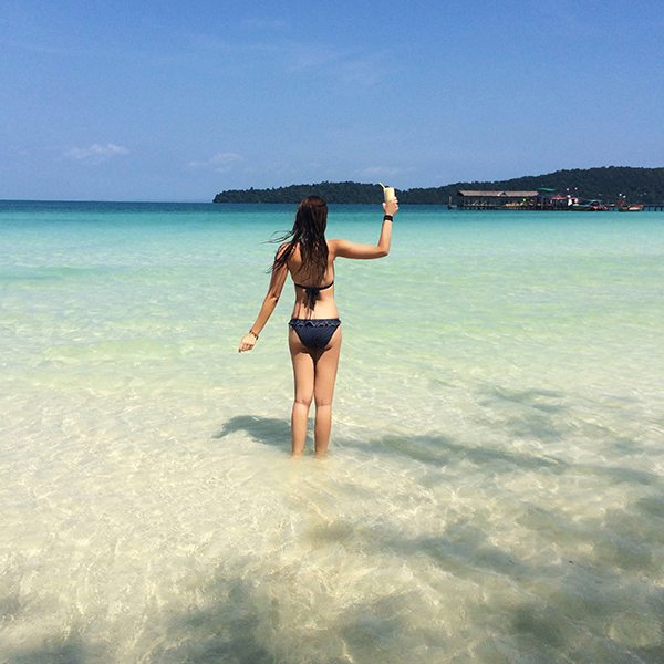 Beach on Koh Rong Island - Cambodia