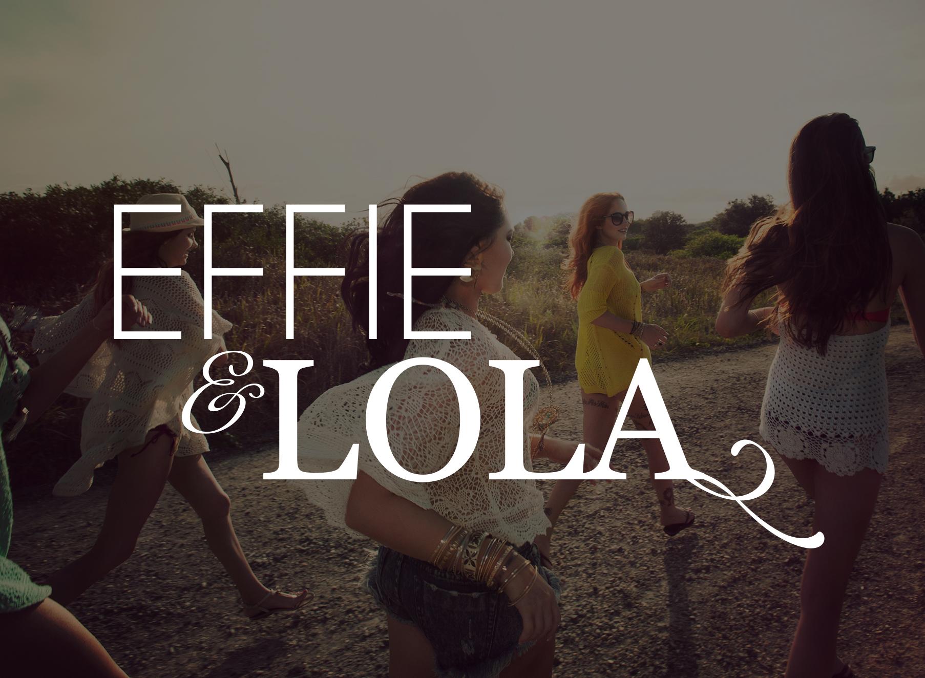 Effie & Lola Logo - Folio