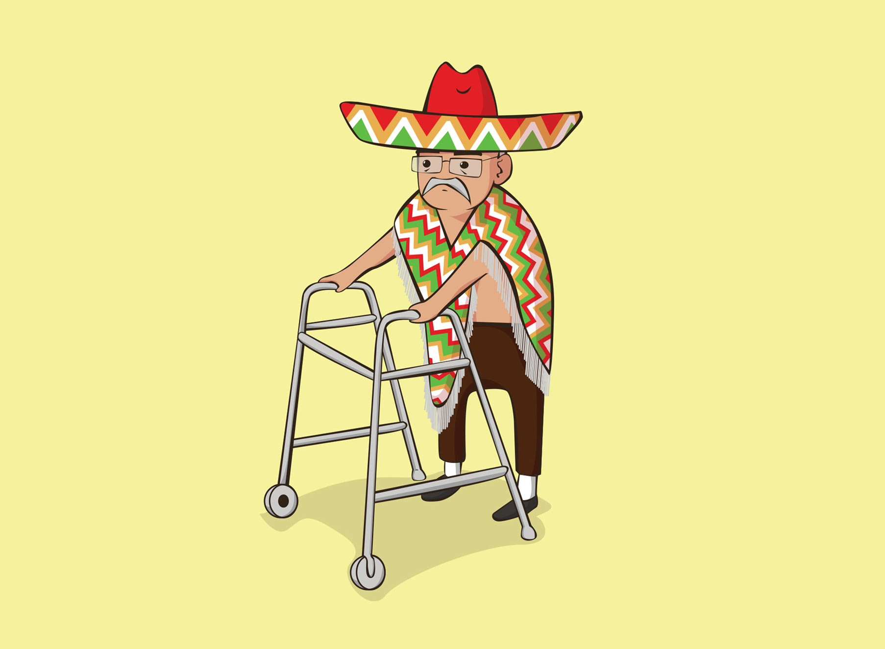 Mexican Ben - Illustration - Folio