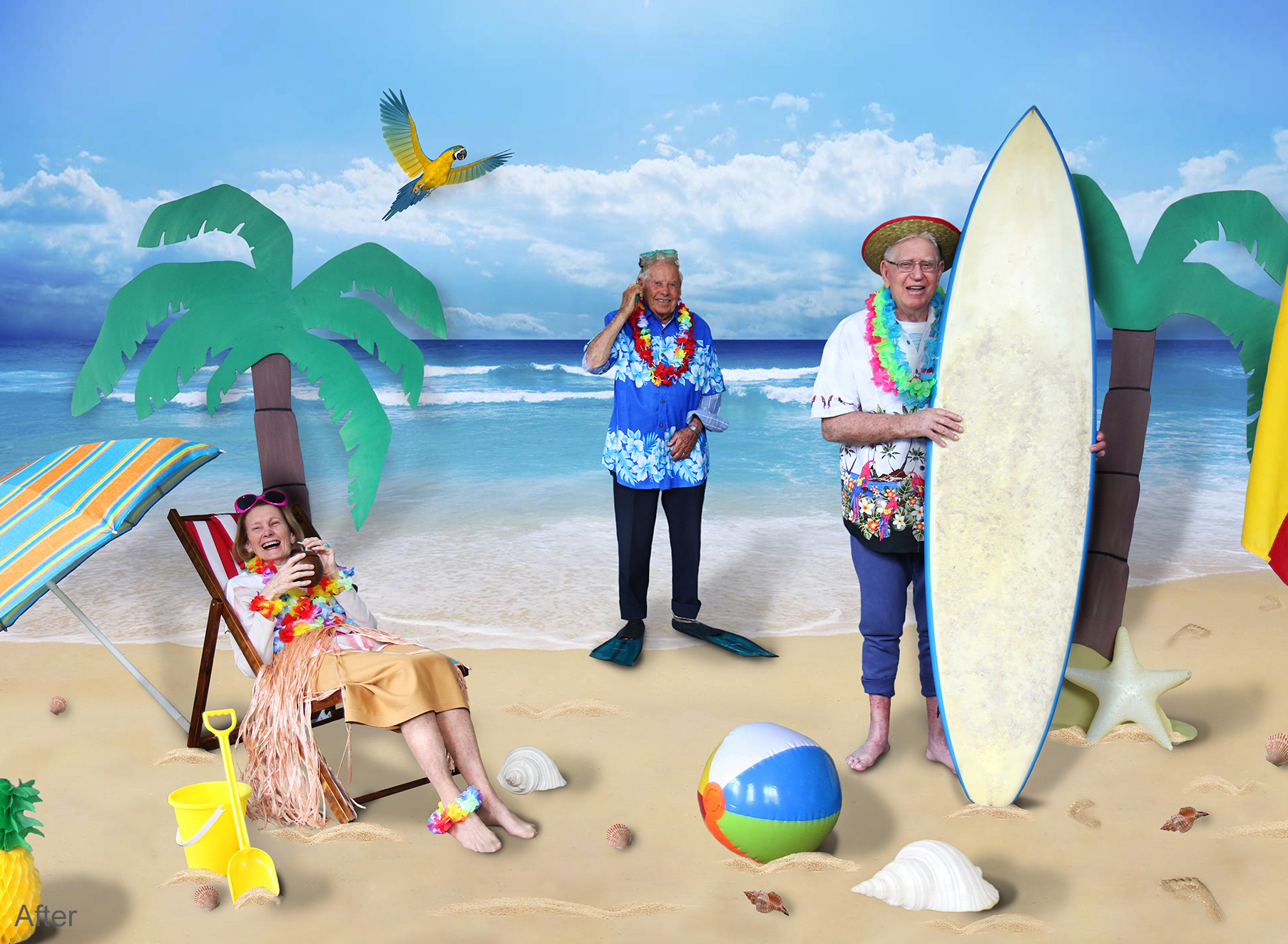 Seniors Tropical Week - Folio After