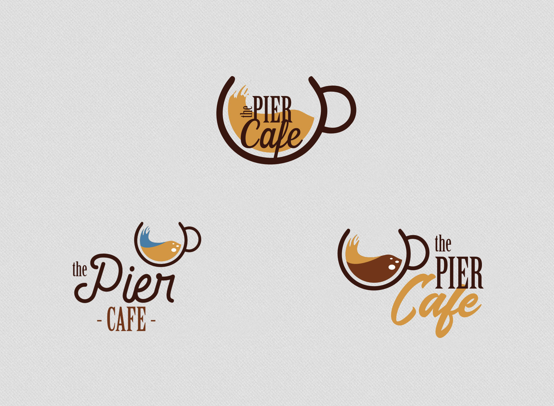 The Pier Cafe Logo - Folio