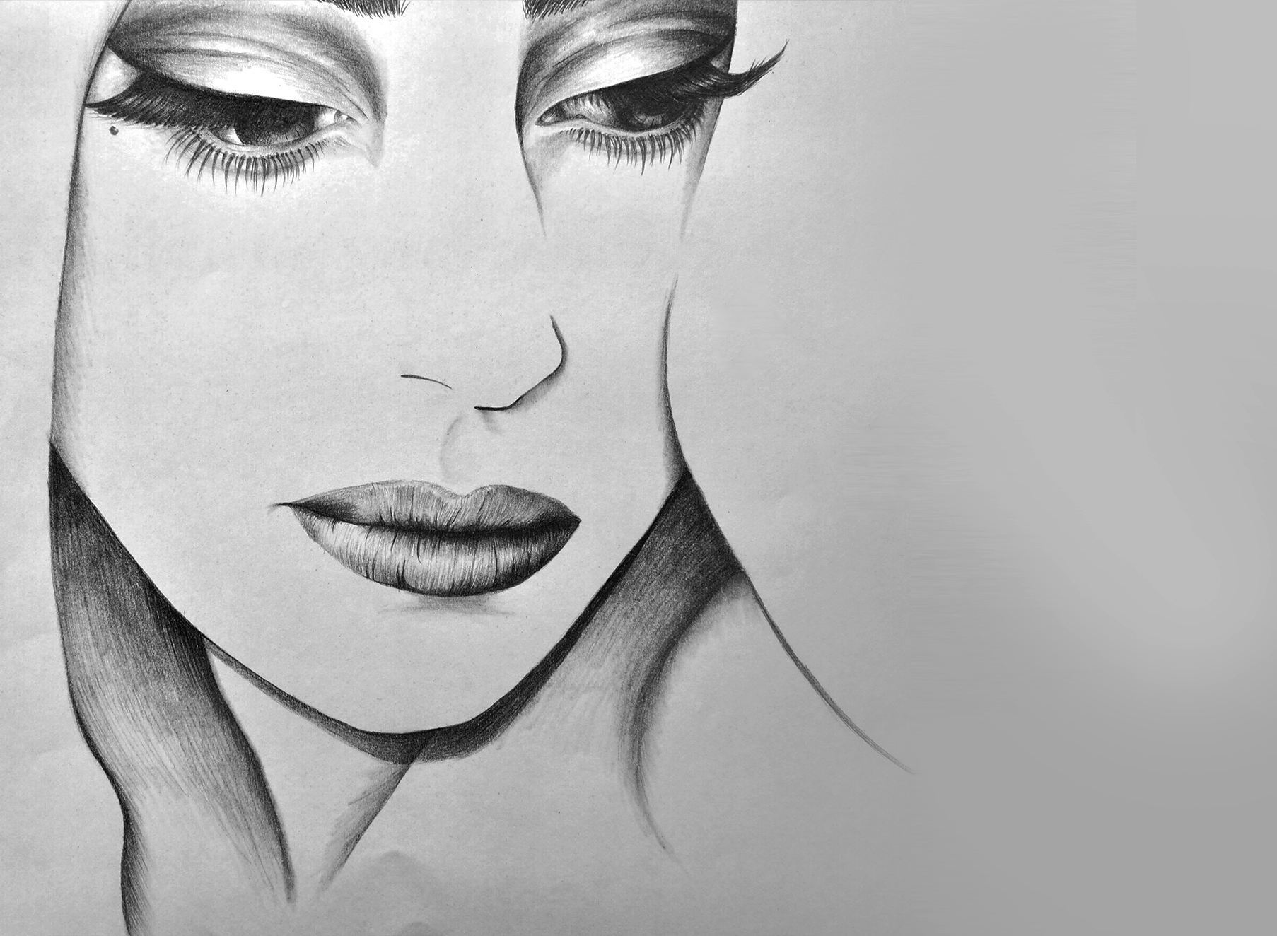 Pencil Drawing 2 - Illustration - Folio