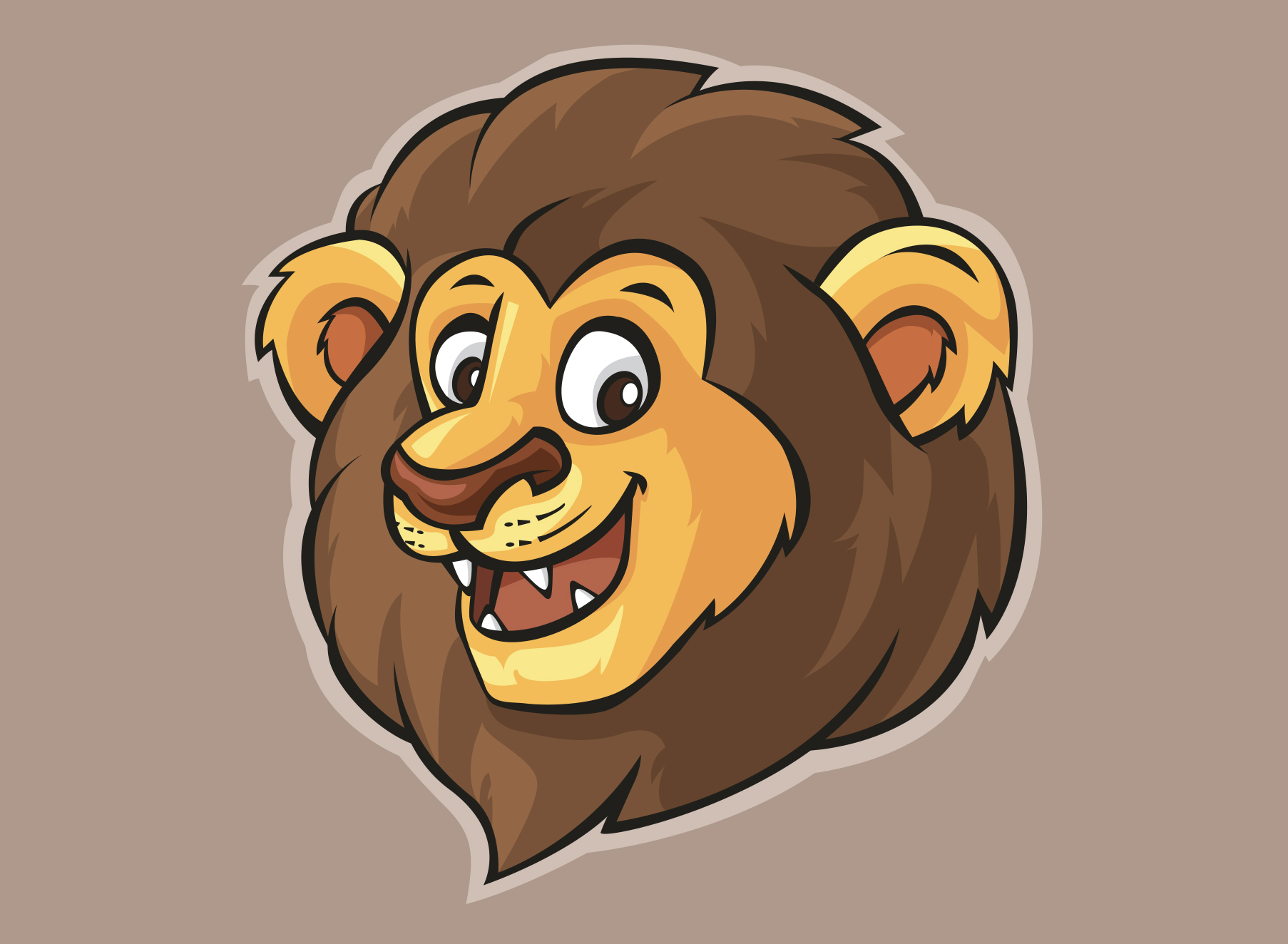 Leo Lion - Illustration - Folio