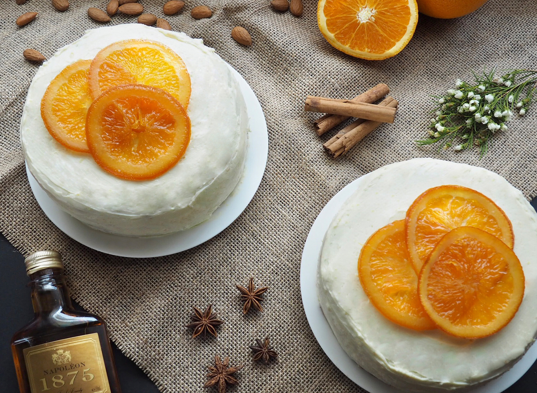 Orange and Poppyseed Vanilla Cake - Photography Folio