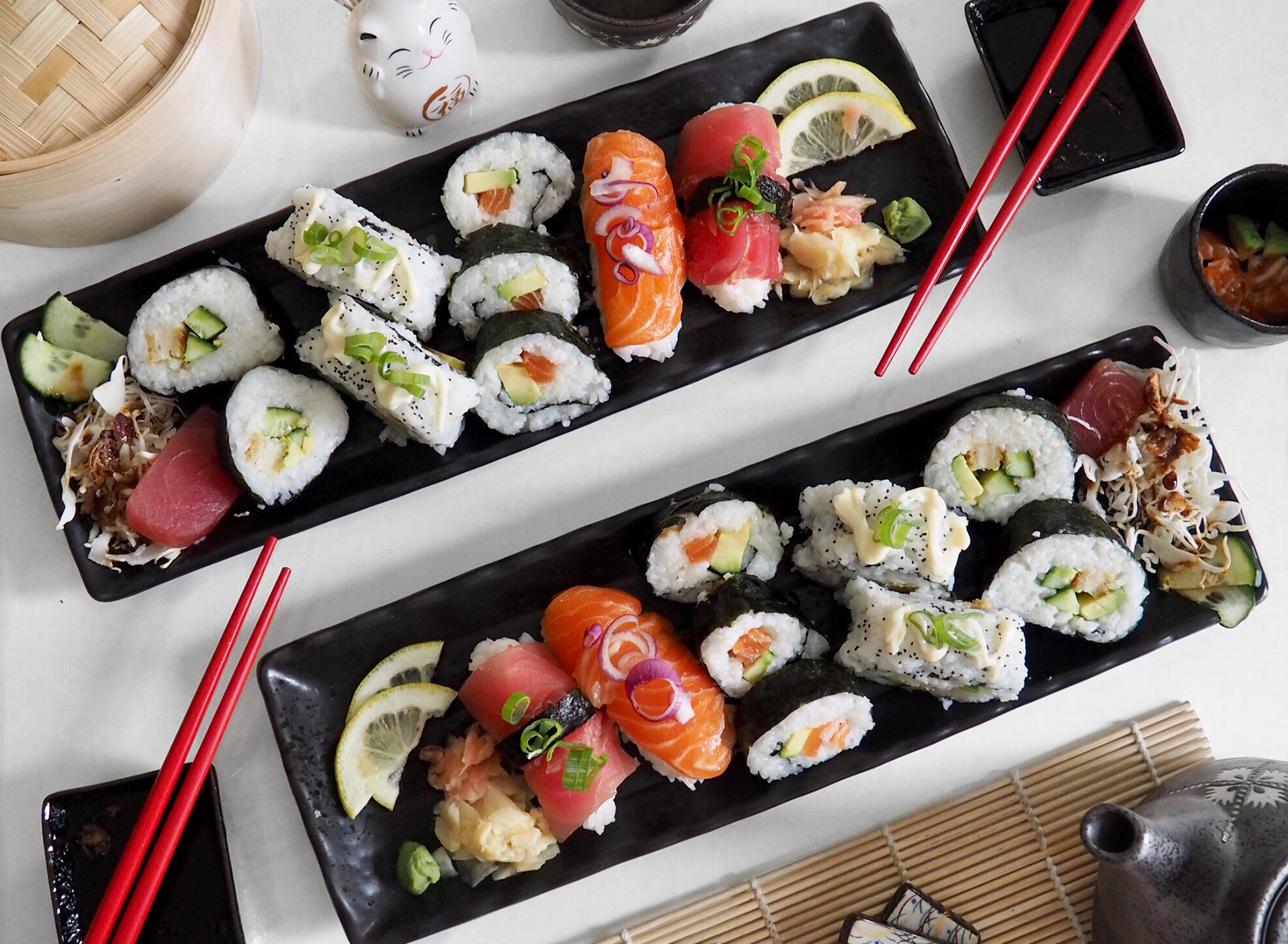 Sushi Flatlay - Photography Folio