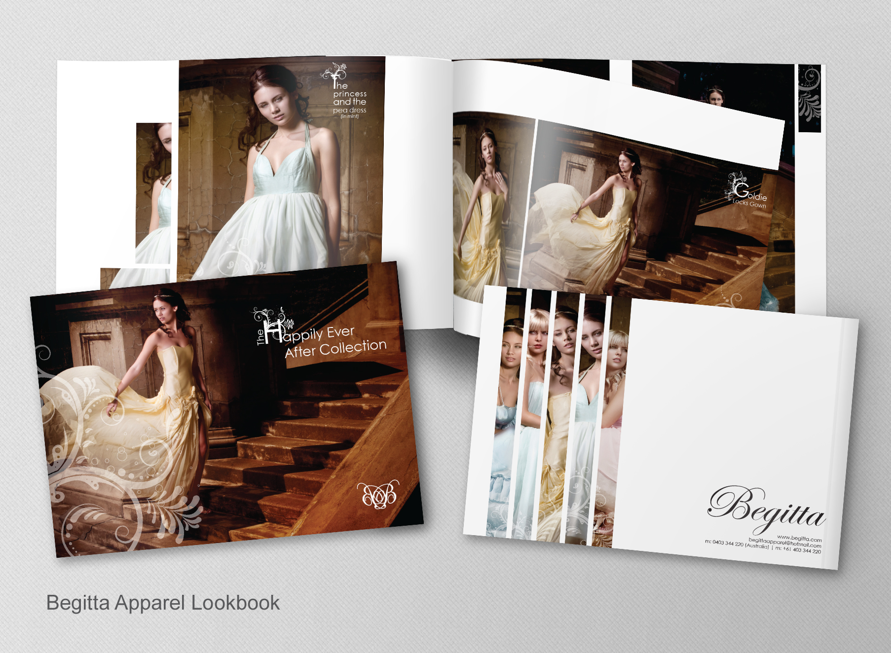 Begitta Lookbook - Folio Graphic Design