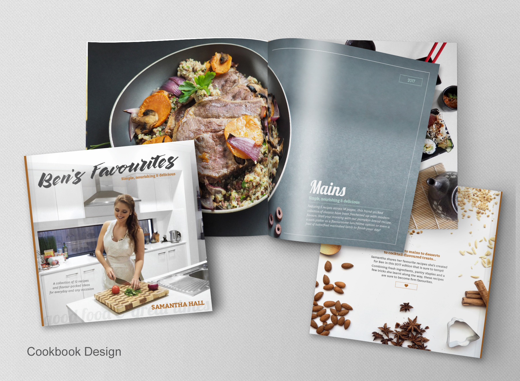 Cookbook Design - Folio Graphic Design