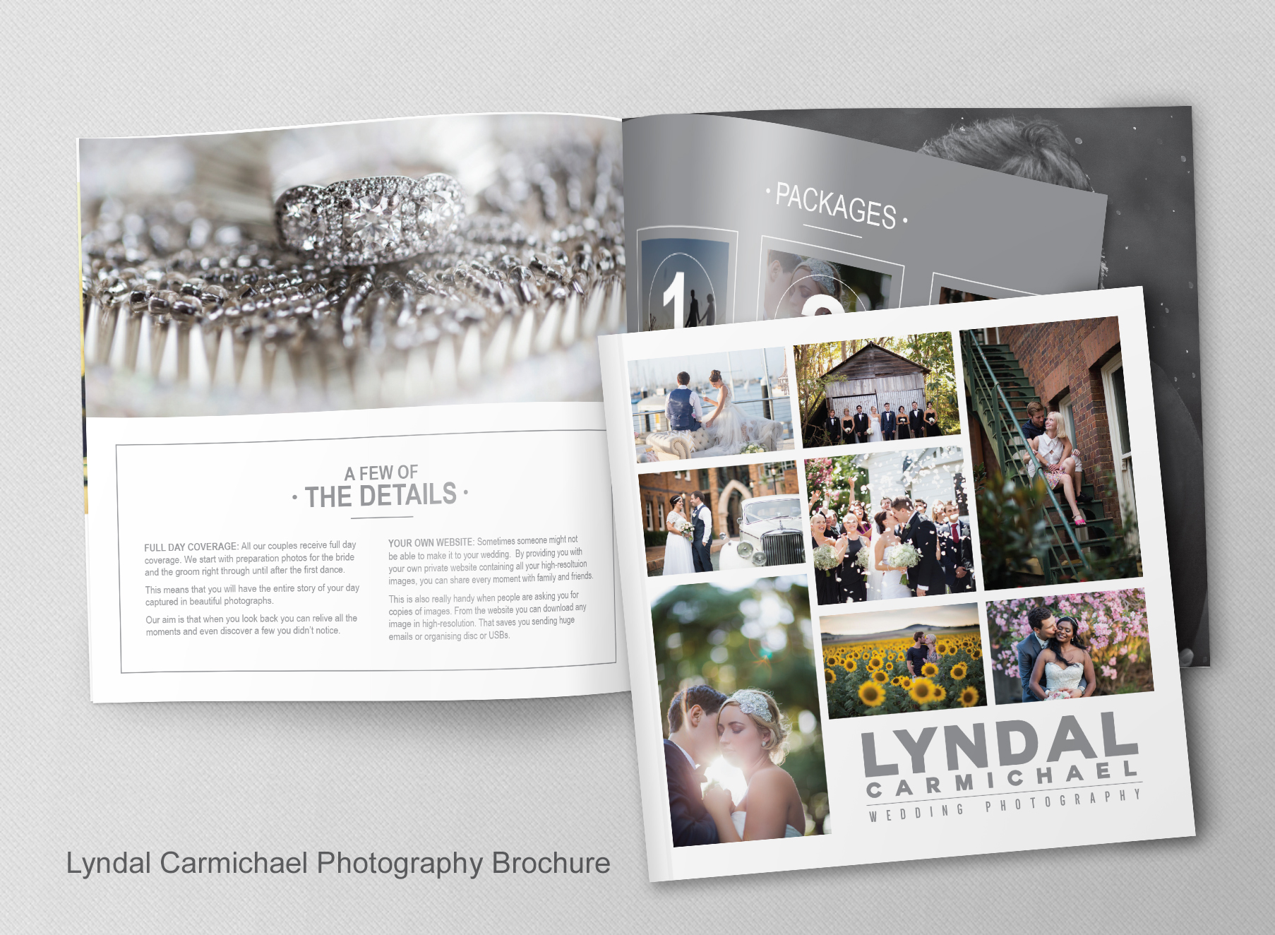 Lyndal Carmichael Brochure - Folio Graphic Design