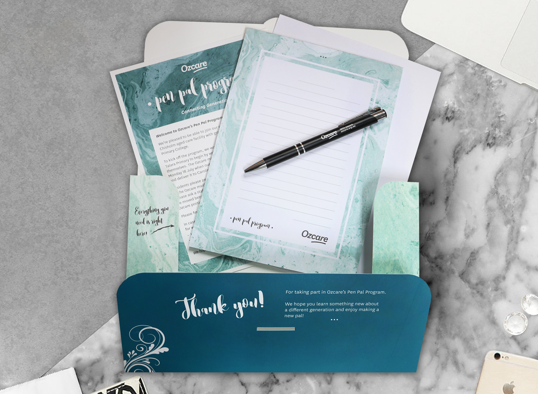 Pen Pal Program Pack - Folio Graphic Design
