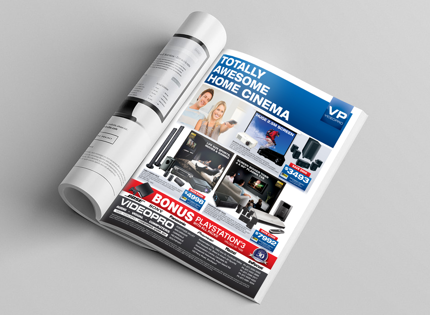 Videopro Ad - Folio Graphic Design