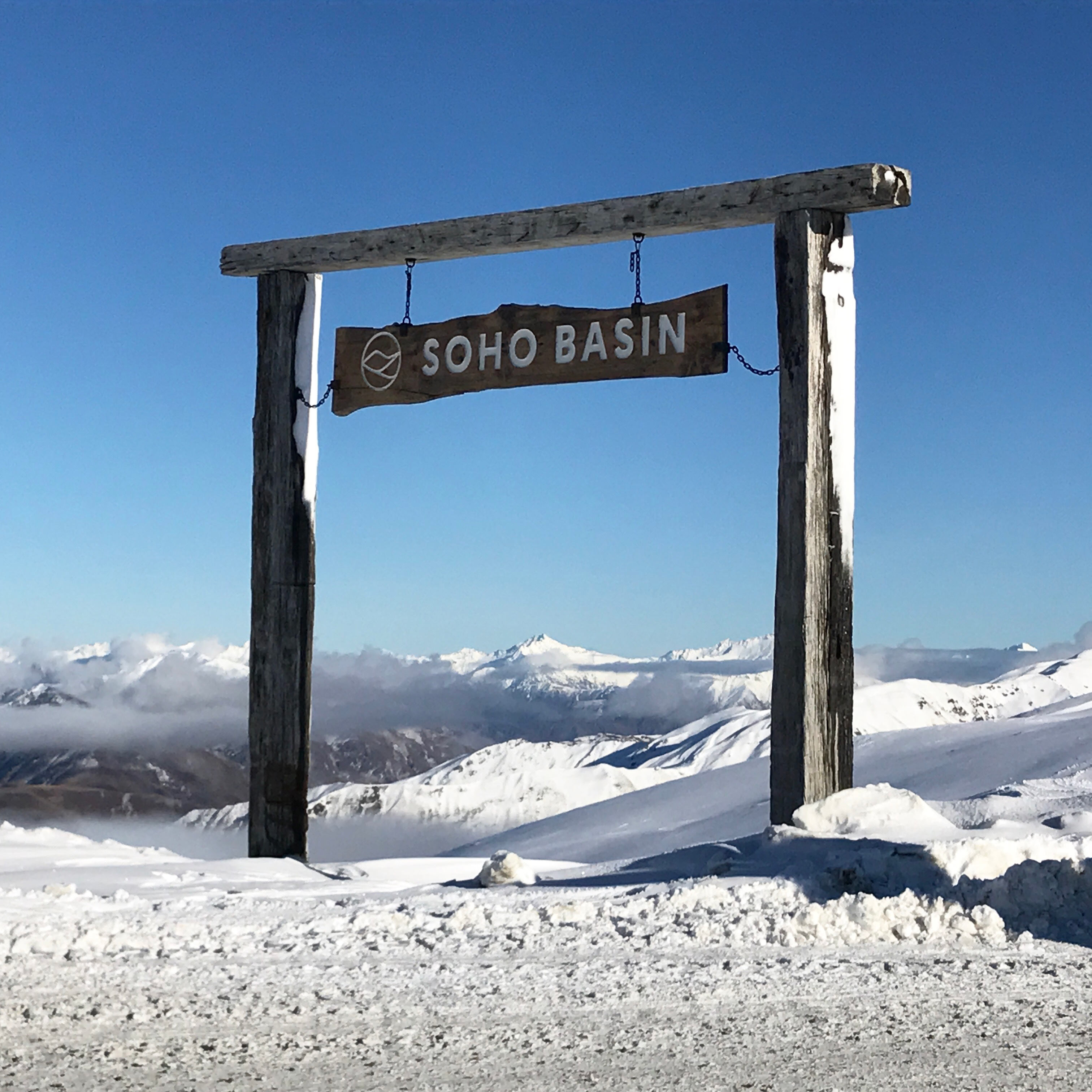 Cardrona Soho Basin Ski Slope