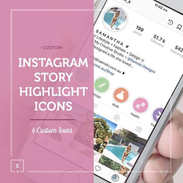 Samski Custom Instagram Story Highlights